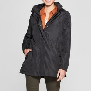 Like New! A New Day Water Resistant Hooded Jacket